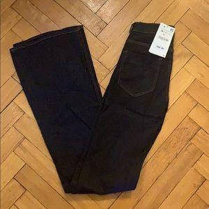 NWT - Zara - Women's Dark Flares - Size 4